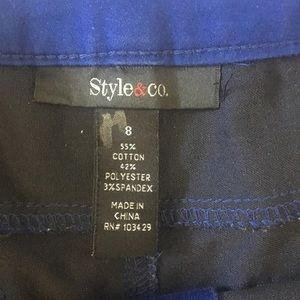 Style & Co Pants - Style and Co- Colored Jeans- Sz 8